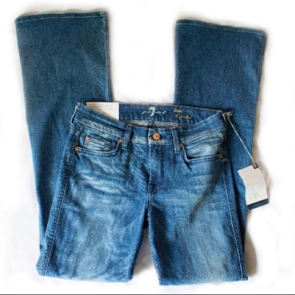 "7 For All Mankind Denim - 7 FOR ALL MANKIND ""A Pocket Lexie Petite Jeans 27"